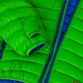 Ocun Tsunami Manteau en duvet Homme, green/blue